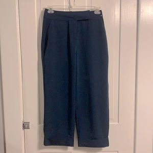Dr. Who Junior's Navy Cuffed Pants with Tardis 7